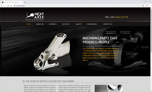 Next-Axis Website